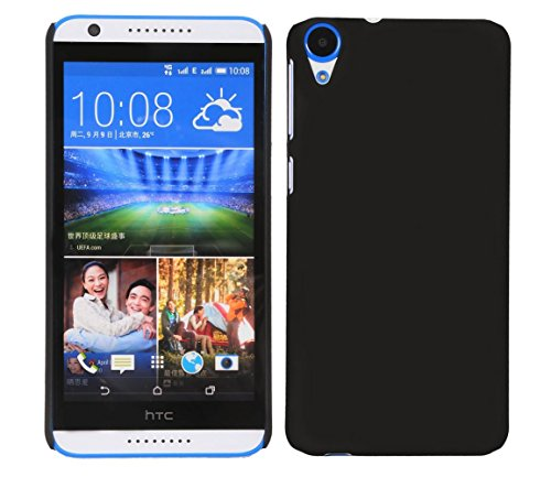 SDO™ Classy Matte Finish Rubberised Design Slim Hard Back Case Cover for HTC Desire 820s - Black  available at amazon for Rs.185