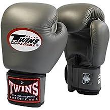 TWINS Boxhandschuh dunkelgrau, Handschuhe Boxen
