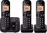Panasonic KX-TGC223GB Schnurlostelefon mit AB KX-TGC223 schwarz