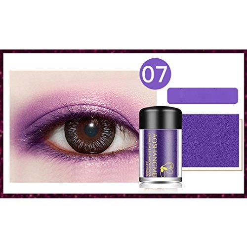 ❤️ Fard à paupières,8 Couleurs Ombre à Paupières Maquillage Fard À Paupières Métallique Palette Maquillage Disponible Fard À Paupières Palette by LHWY (G)