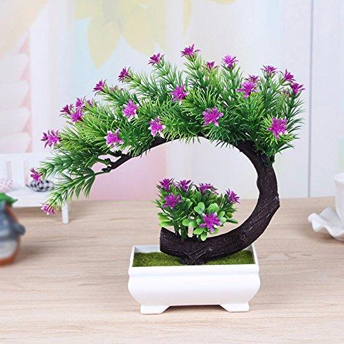 GBHNJ Artificial Flower GBHNJ Faux Fleurs Cadeau Table Basse Gala Simulation Plantes En Pot Decoration Rouge Rose Plante