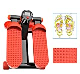 Lcyy-step Aerobic Fitness Adjustable Twister Stepper mit Rope Healthy Fitness Mini Stepper Machine Orange