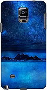 galaxy note 4 back case cover ,Blue And Beautiful Designer galaxy note 4 hard back case cover. Slim light weight polycarbonate case