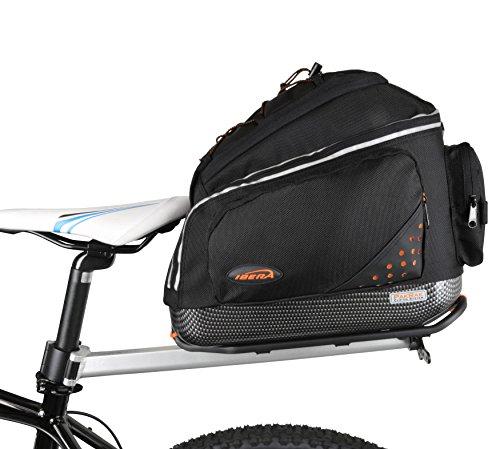2-licht Im Freien Post (Ibera Parka Bicycle Seat Post Commuter Rack und Quick Release Fahrrad Tasche)