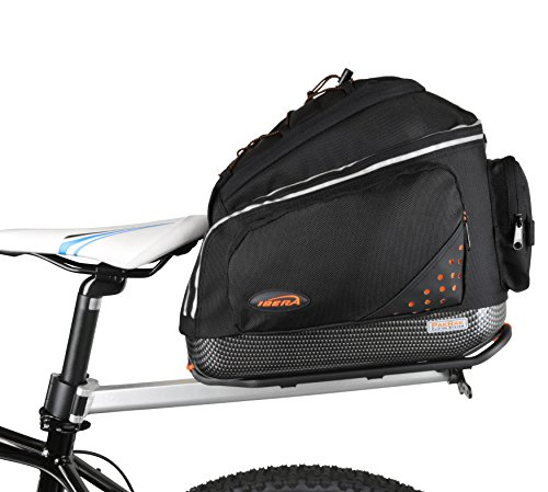 Ibera Parka Bicycle Seat Post Commuter Rack und Quick Release Fahrrad Tasche -