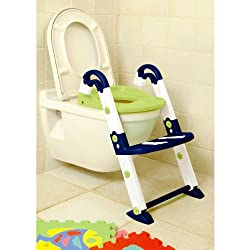 Rotho KidsKit toilet- Trainer 3 in 1, blau/weiß