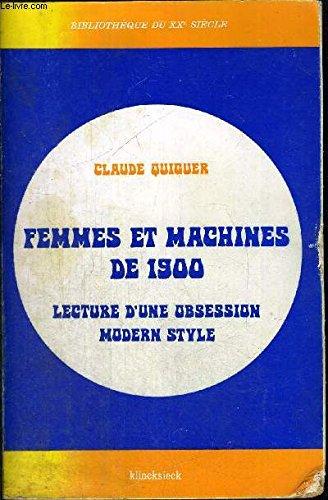 Femmes et machines de 1900 : Lecture d&#...