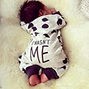 LnLyin Baby Kinderkleidung Neugeborenes Baby Kleidung Frühling Polka Dot Baby Overalls Langärmeligen Trikot