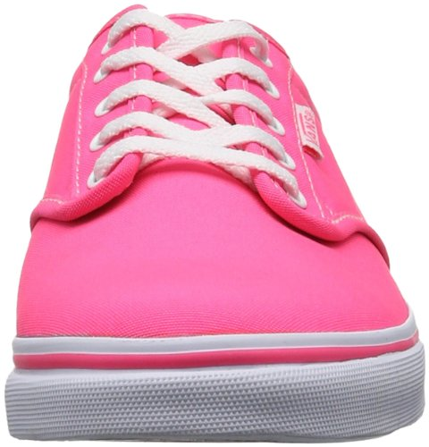 Vans W ATWOOD LOW  (NEON) PINK/WHI, Sneaker donna Rosa (Neon/Pink/White)