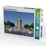 Wasserturm, Mannheim/Deutschland 1000 Teile Puzzle Quer