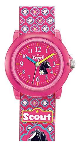 Scout Mdchen Analog Quarz Uhr mit Lederimitat Armband 280305012
