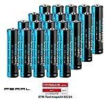 PEARL AAA 1 5V Batterien: Super-Alkaline-Batterien Typ AAA/Micro, 1,5 Volt, 20 Stück (Batterien für den Haushalte)