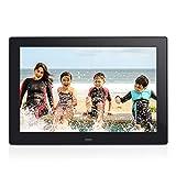 Digital Photo Frame 8 inch Jimwey 1080P HD 16:9 IPS LCD Display Electronic