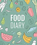 Food Diary: A Food and Exercise Diary to Track Your Eating and Exercise for Weight Loss, Size 7.5'' x 9.25'' (90 Days Meal and Activity Tracker )