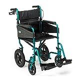 Days Escape Lite Aluminium Wheelchair, Racing Green - Narrow