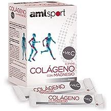 Amlsport Colageno con Magnesio + Vit. C - 20 sticks