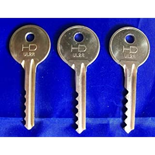 Universal 3 Piece REVERSE 5/6 Lever Bump Keys