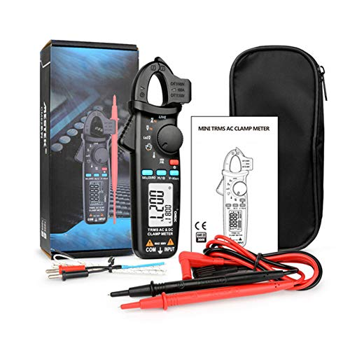 Digital-Multimeter, Digitalzangenmessgerät DC AC Strom Spannung Ampere NCV Ohm Tester Amperemeter Multimeter Elektriker-Werkzeug (C-Modell)