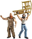 WWE Series #28 Luke Harper and Erick Rowan Figure with Rocking Chair (2-Pack)
