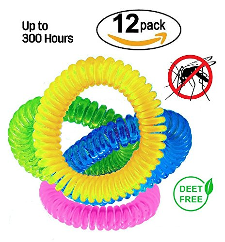 dikete-12pcs-mosquito-repellent-bracelets-all-natural-deet-free-waterproof-insect-repellent-wristban
