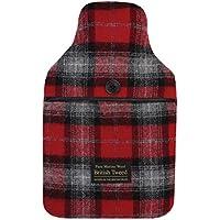 Aroma Home Luxus Tweed Wärmflasche, Rot preisvergleich bei billige-tabletten.eu