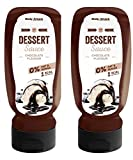 Body Attack Chocolate Dessert Sauce, 2er Pack (2x 320ml)