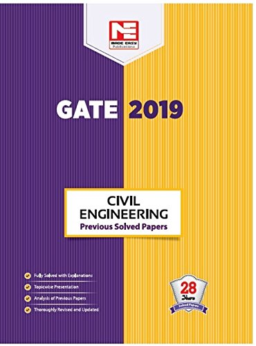 GATE 2019: Civil Engineering - Previous Solved Papers
