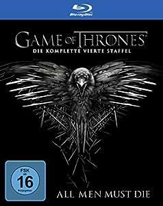 game of thrones die komplette vierte staffel 4 discs. Black Bedroom Furniture Sets. Home Design Ideas