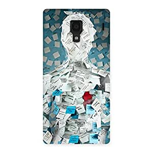 Gorgeous Office Paper Back Case Cover for Redmi 1S