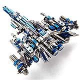 MQKZ Casse-tête 3D en métal assemblé / Bataille du Leadership - Leader 1 /...