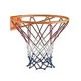 Basketballkorb 45cm in orange aus witterungsbeständigem Material inkl. Befestigungsmaterial...