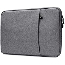 """NIDOO Water Repellent Laptop Sleeve Case Protective Bag Pouch for 11.6"""" MacBook Air 12"""" HUAWEI MateBook E 12.3"""" Samsung Chromebook Pro, Dark Gray, Changed Size"""