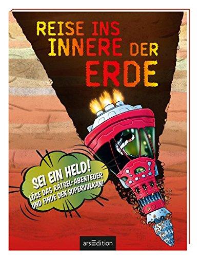 Reise ins Innere der Erde: Sei ein Held! Löse das Rätsel-Abenteuer und finde den Supervulkan!