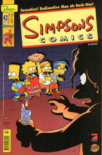 (SIMPSONS Comics # 43 - Sensation! Radioactive Man als Rock-Star! Comic DINO 2000 (Simpsons))