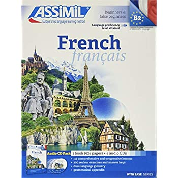 French Pack CD (book+4 CD)