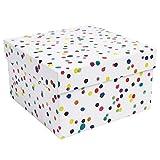 Watercolour dots Large Gift Box