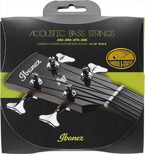"IBANEZ Carbon Coated Strings für 32"" Mensur Akustik Bass - 040-095 80/20 Bronze (IABS4XC32)"