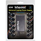 Infapower P033Universal Laptop Power Supply 65W automatic 12Tips