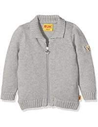 Steiff Unisex - Babys Reverskragen Long - regular Jumper