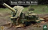 Takom TAK-2035 - Modellbausatz German Empire Big Bertha Siege, 420 mm