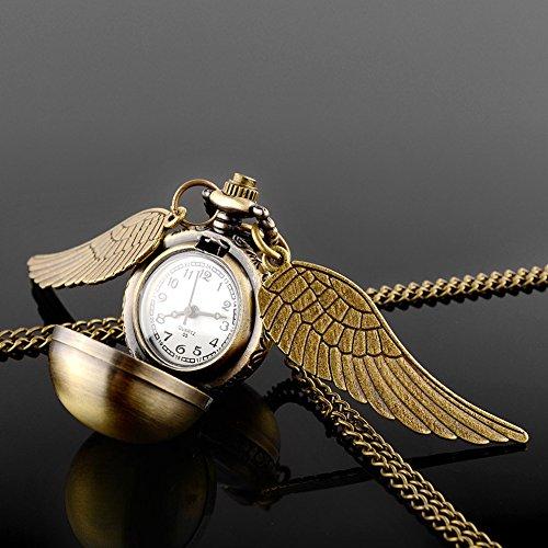 harry-potter-boccino-doro-orologio-collana-steampunk-quidditch-pocket-orologio