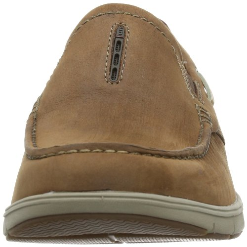 Clarks  Unnautical Bay, Brogue homme Marron - Braun (Mahogany Nub)