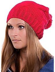 Béret en tricot Knit Cap Bonnet d'hiver 236 surdimensionnés Automne / Hiver 2013/14 plusieurs couleurs