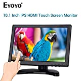 Eyoyo IPS Touch Monitor LCD 10 Pollici 1280x800 Resoluzione Support VGA Ingresso per PC TV Security Display