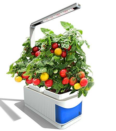 Smart Hydro ponics Indoor Herb Garden Kit Mini Plant Grow LED Light de...
