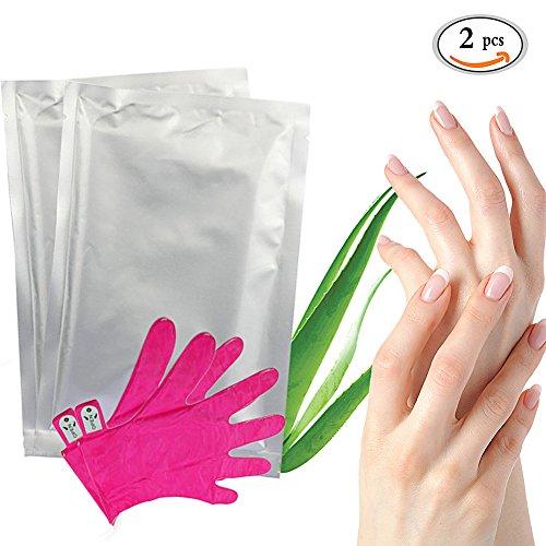 Hand mask, Handmaske, Hand Peeling Maske, Handpflege Hand Exfoliating Remove Dead Skin, Feuchtigkeitsspendende Aufhellung Peeling Kallus Handschuhe, reichhaltige Pflege in praktischer Handschuh