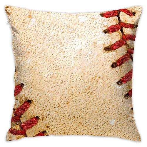 artyly Fundas de Almohada Personalizadas Decorativas Fondo de Beisbol Fundas de Almohadas Fundas de Almohadas de Tiro 45x45 cm para Cama Sofá Silla Coche