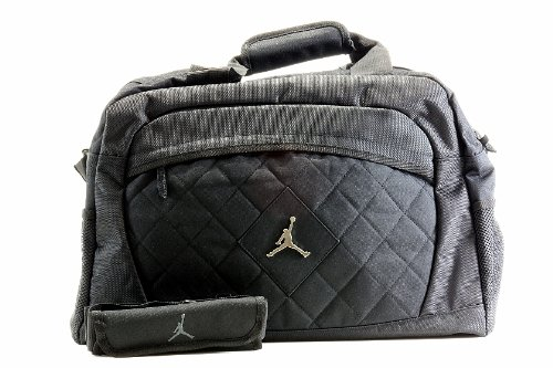 Nike Jordan Jumpman Logo schwarz Medium Duffle Bag (Bag Gesteppte Duffel)