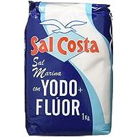 Sal Costa Sal Marina con Yodo y Flúor - 1 kg