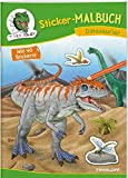 Sticker-Malbuch Dinosaurier: 40 Sticker zum Gestalten von Bildern, Brotdosen & Co. (Malbücher und -blöcke)